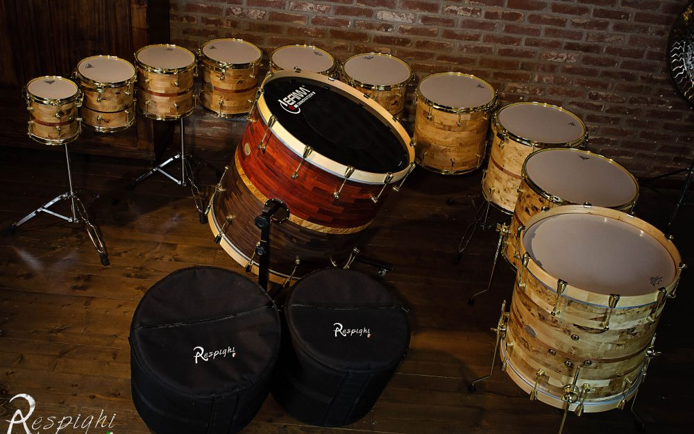 set concert drums simone rubino