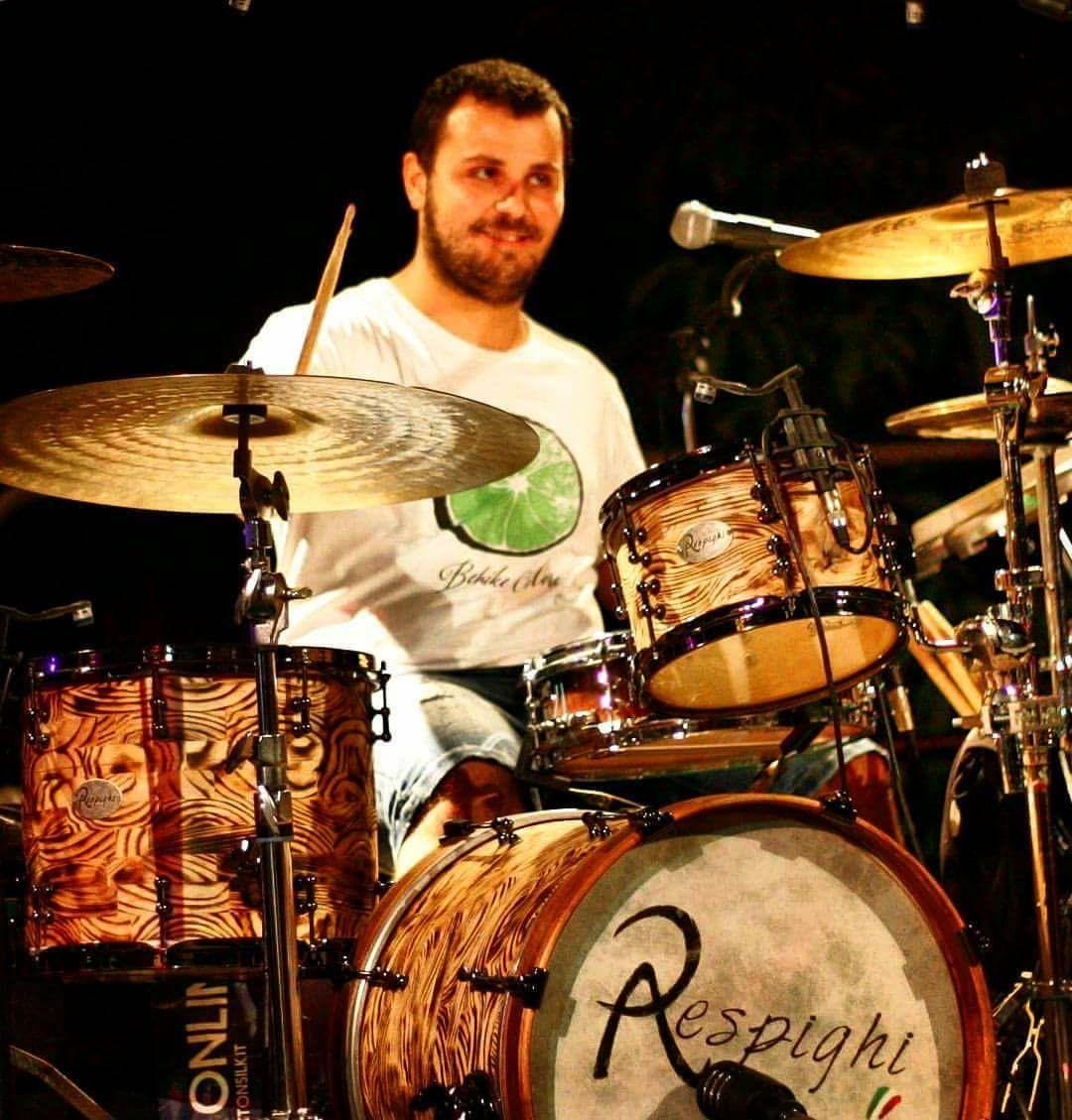 Gianmaria Nicoletta suona la sua batteria Respighi