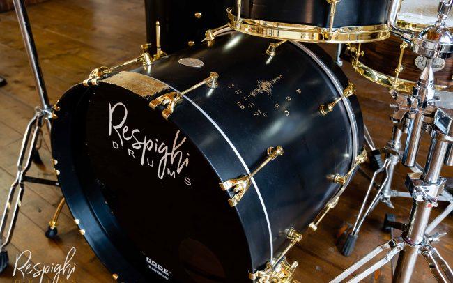 batteria artigianale acero liscio - drum maple segmented drum