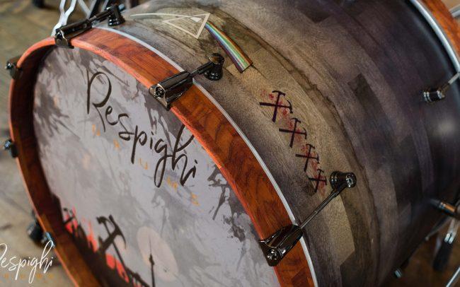 Cassa Respighi Drums Pink Floyd Tribute