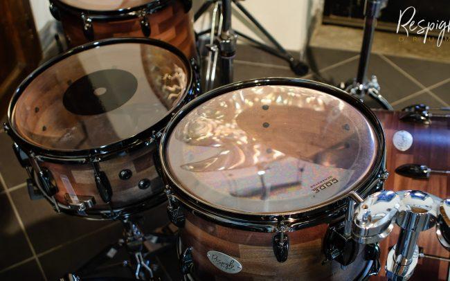 Pelli code su respighi drums in mogano