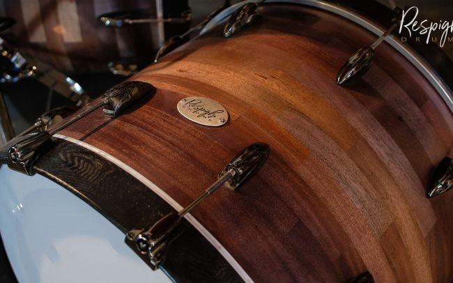 cerchi cassa in frassino verniciato nero di respighi drums