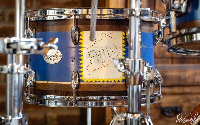 batteria pioppo noce israel varela frida doghe orizzontali respighi drums - respighi drums segmented drum