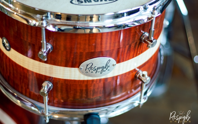 Tom a doghe orizzontali Royal Maple in acero marezzato