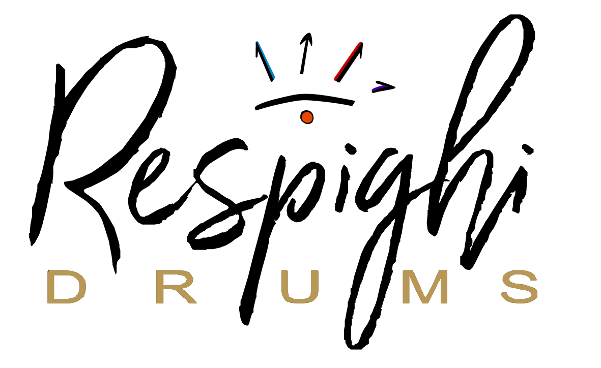 Logo Respighi Drums batterie artigianali in legno massello